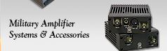 Military Amplifier Systems and Accessories